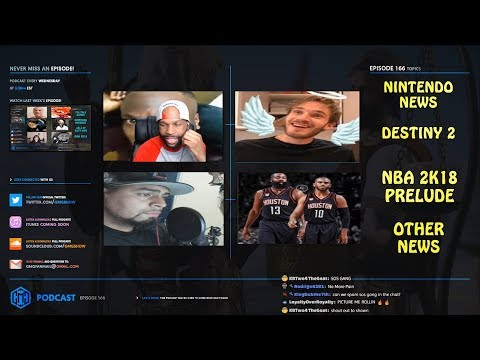 GMG Show Ep. 166 - Nintendo, Destiny 2, NBA 2K18 Prelude, and More! (GMG Podcast)