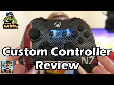 N7 Custom Controller Review - Controller Chaos Mass Effect N7 Carbon