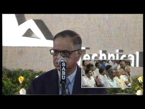NR Narayana Murthy's Speech at Yuva Mastermind 2012 Award Ceremony at Amal Jyothi