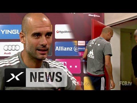 "England-Coach? ""Oh no!"" – Pep Guardiola verlässt PK   FC Bayern München oder doch Nationaltrainer?"