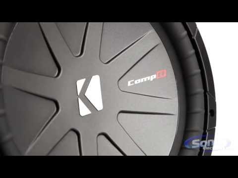 Kicker CompR Car Subwoofers   New CVR Subs for 2013!