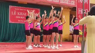 Nhảy Vui Đến Trường lớp 7A trường THCS Minh Phú 2018 2019