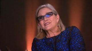 Carrie Fisher Hints at