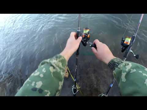 Рыбалка на Карася в речке