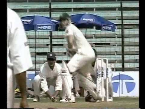India v South Africa 1999/00 1st test MUMBAI highlights