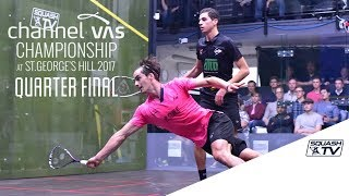 Squash: Top 5 Shots - Semi-Finals: Channel VAS Championships 2017