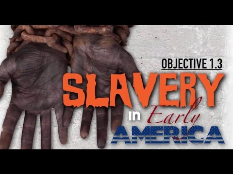 History   Slavery in Early America