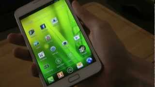 Samsung Galaxy Note Android 4.0.3 - Review