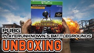 PUBG(PlayerUnknown's Battlegrounds) Game Preview Edition (Xbox One) Unboxing !!