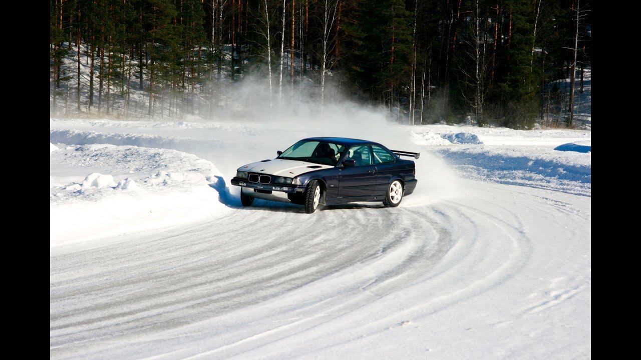Ice Racing Bmw 325i E36 Onboard Youtube