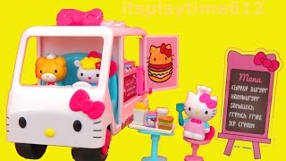Hello Kitty Food Truck Playset from Jada Toys - itsplaytime612