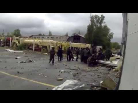 Stripping Donetsk Airport | Ukraine War