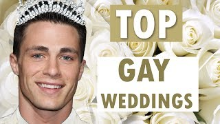 TOP 9 FAMOUS GAY COUPLES WHO ARE ENGAGED OR MARRIED
