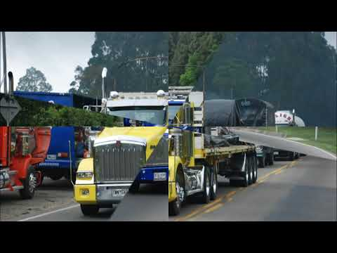 Fotos camiones Kenworth en Colombia