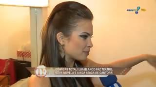 TV Fama: Lua Blanco abre o coração para Íris Stefanelli
