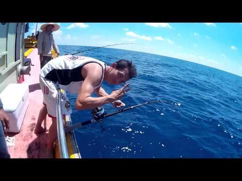 Oil Rig fishing 2014 (Malaysia Terengganu)