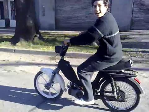 zanella en una rueda