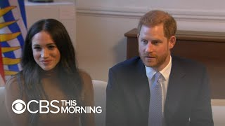 Harry and Meghan's future up in the air