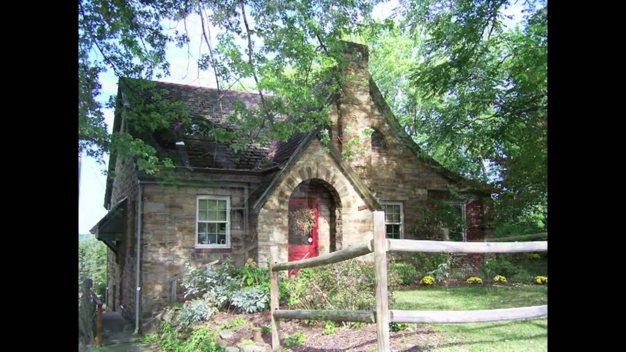 Charming Eclectic Stone Cottage Youtube