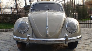 Classic VW BuGs Rare Collectable Features of the 1953 Oval Window Beetle