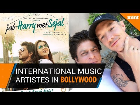 Bollywood films that featured international music artistes