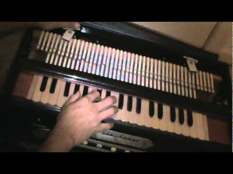 Learn Harmonium 29 - How to play Kabhi Ram Banike Kabhi Shyam...