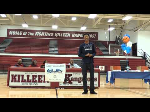 Melvin D. Anthony speech at signing with University of Arkansas Fort Smith 11-22-2013