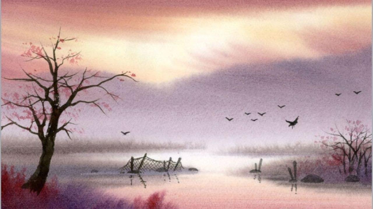Водопад рисунки 7