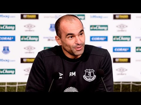 Roberto Martinez Pre-Watford Press Conference