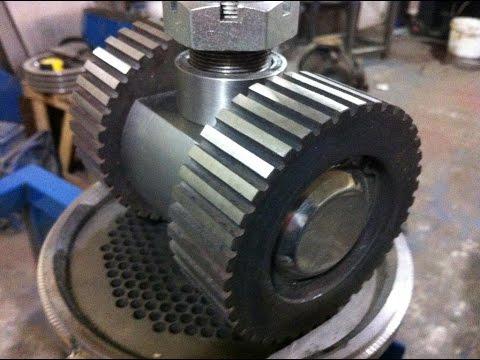 Как сделать матрицу для гранулятора своими руками
