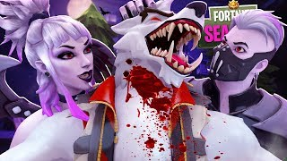 Vampire Dusk's LUST to LOVE BITE Werewolf Dire!! Fortnite Season 6 Short Film