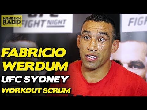 Fabricio Werdum Gives His Side of Colby Covington Boomerang Incident