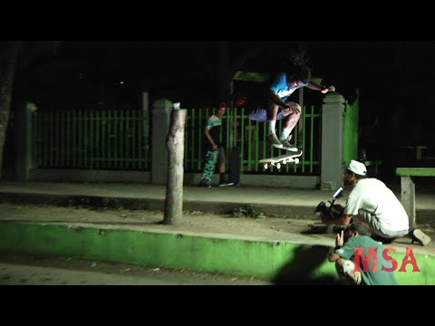 "Roberto Santana MSA ""Scolarship"" video part"