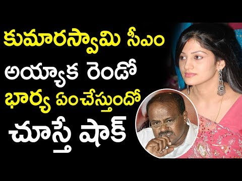 HD Kumaraswamy's Wife Radhika Unknown Facts | Radhika To Do Movies Again | Tollywood Nagar