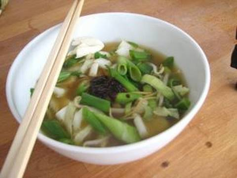 Recipe – Thai noodle soup