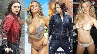 Elizabeth Olsen vs Scarlett Johansson Transformation ★ 2018