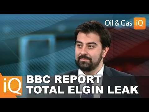 BBC News: Tim Haidar, Oil & Gas IQ discusses Total Elgin Platform Gas Leak