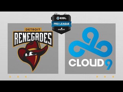 CS:GO - Renegades vs. Cloud9 [Cache] Map 2 - ESL Pro League Season 5 - NA Matchday 6