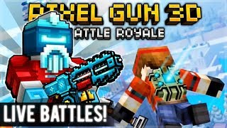 BUYING THE NEW BATTLE PASS! - 15.7.0 NEW ALIEN SANTA EVENT & WEAPONS! | Pixel Gun 3D