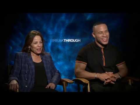 Interview With Devon Franklin & Roxann Dawson From The Movie Breakthrough
