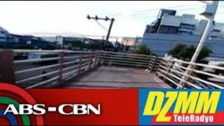 DZMM TeleRadyo: Footbridge in viral video not yet open to public - MMDA