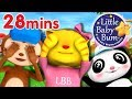 Peek A Boo Song | Plus Lots More Nursery Rhymes & Kids Song | 28 Minutes from LittleBabyBum!