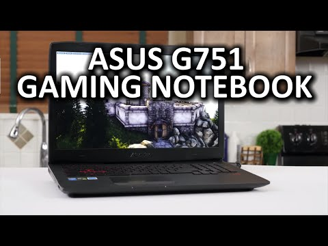 ASUS G751 Gaming Notebook Review