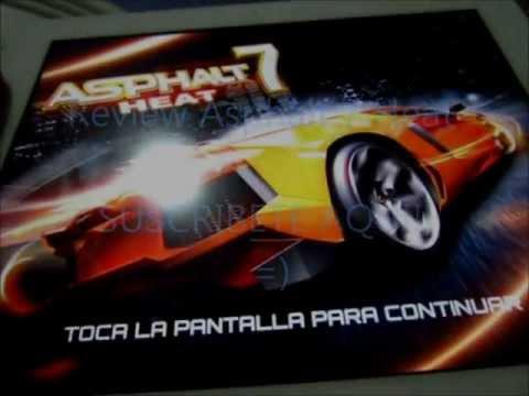Review y Como Descargar  Asphalt 7 Heat GRATIS