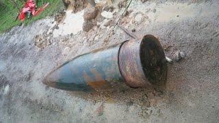 Phát hiện đạn pháo lớn nhất Việt Nam