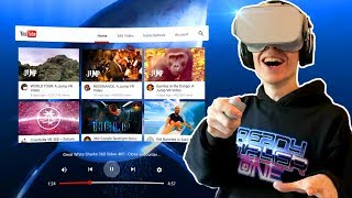 WATCH YOUTUBE IN VIRTUAL REALITY! | YouTube VR App (Oculus Go Experience)