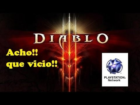 Diablo 3 Ps3 español | probando el multijugador en difícil | en el infierno con Frikips3
