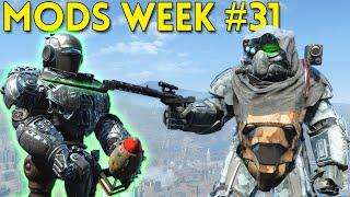 Fallout 4 TOP 5 MODS (PC & XBOX) Week #31 - DOVAHKIIN SHOUTS, MINI LIBERTY PRIME