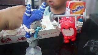 Makan Siangnya Jadi Lebih Semangat Dengan Hadiah Mainan Oddbods dari Chaki Kids Meal KFC