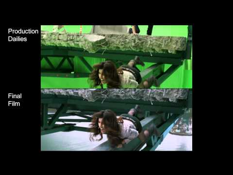 Final Destination 5. Visual Effects of Death: Collapsing Bridge (Speci...